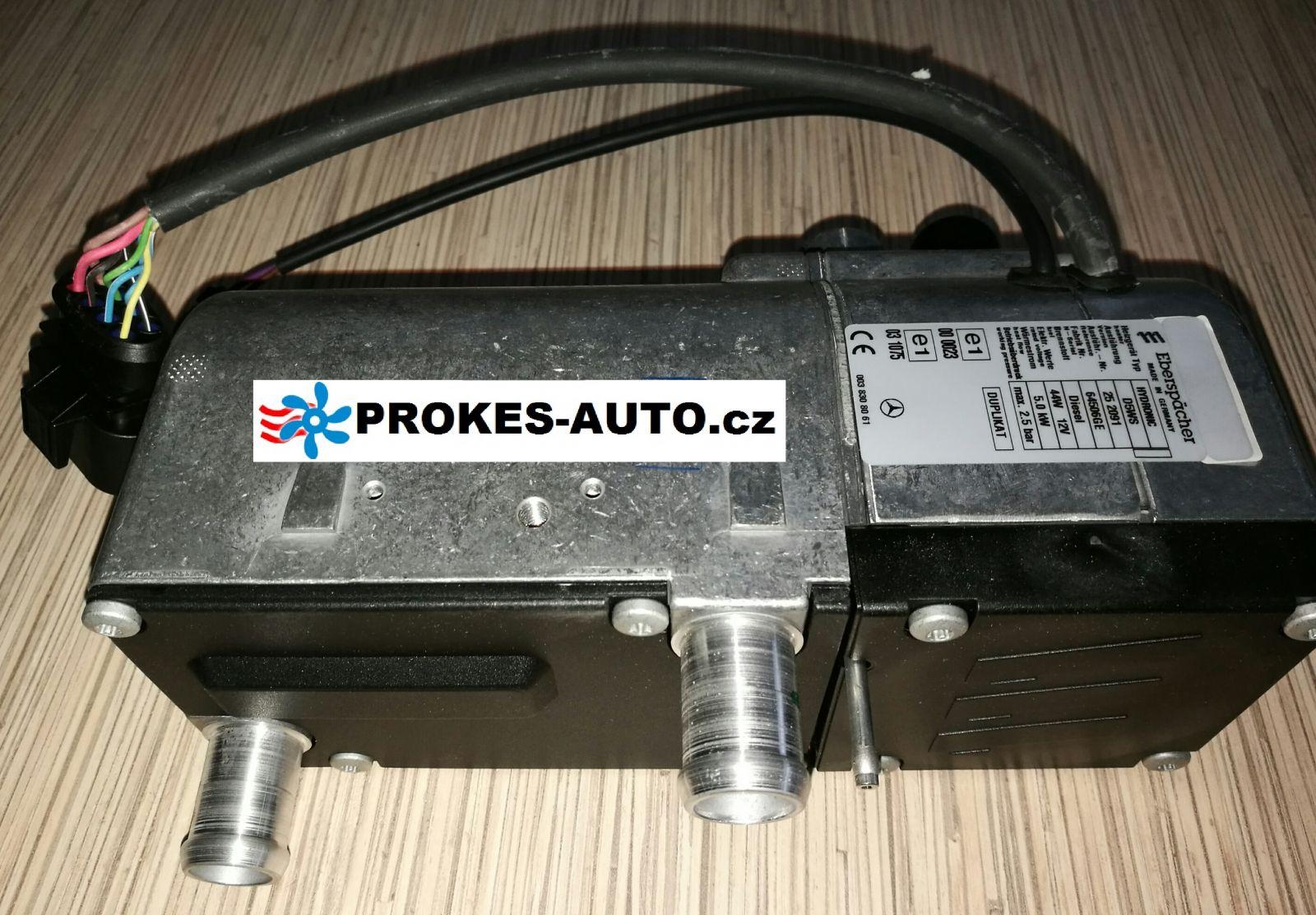 Přihřívač Hydronic D5W S MB Sprinter 252091 / 252091050000 Eberspächer