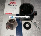 Zásuvka 230V Defa pro montáž ve vozidle
