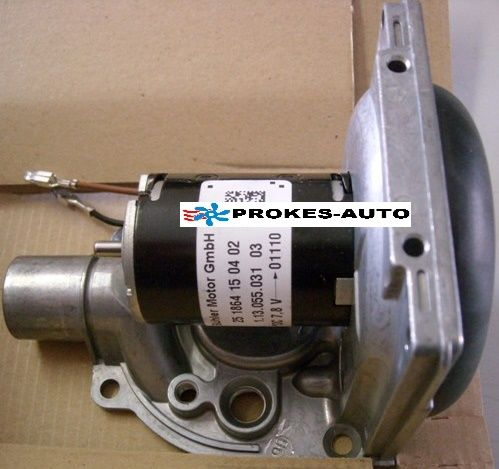 Dmychadlo Hydronic pro přihřívač D3WZ 12V VW 251864991600 / 251864150402 / 251864991500 / 251933991500 Eberspächer