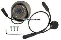 Kamera autobusová; objektiv 2,5mm; HIR; PAL; nestandardní miniDIN-6