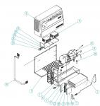 Řídící jednotka / modul kompresoru pro Roadwind 3000 Back